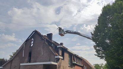 Twee huizen onbewoonbaar na brand