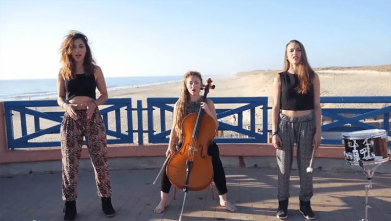 De Franse meidengroep L.E.J.