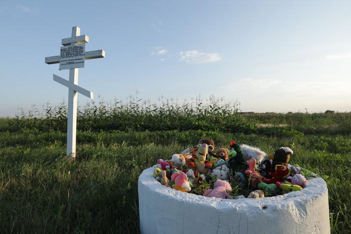 Monument voor de slachtoffers van MH17 in Oekraïne