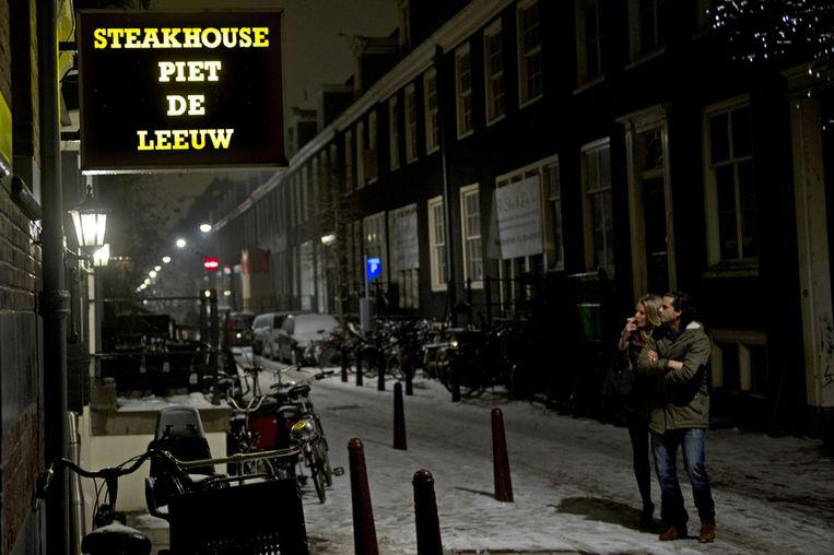 Piet de Leeuw is gevestigd in de Noorderstraat. Beeld ANP