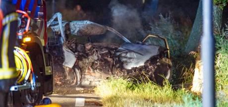 Drie mannen omgekomen na eenzijdig verkeersongeval