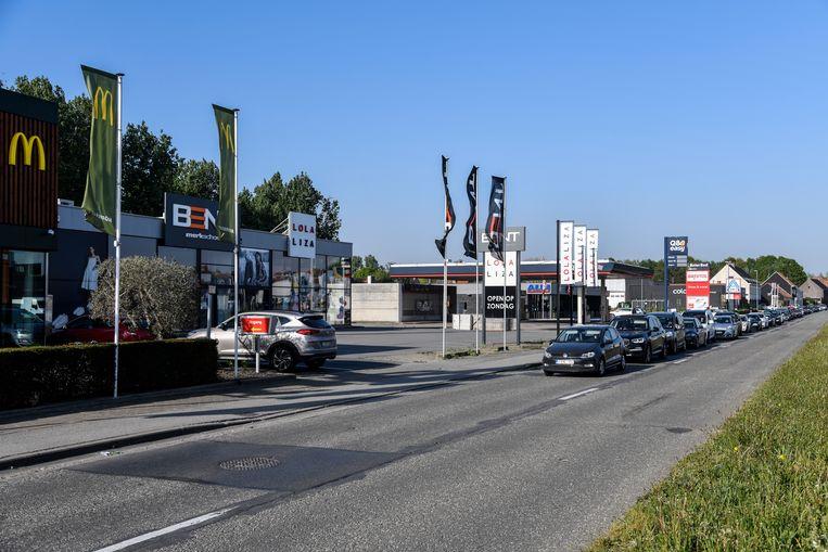 De feiten speelden zich af op de Mechelsesteenweg in Dendermonde.