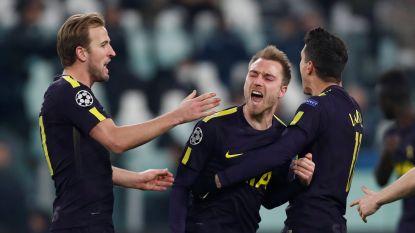 Herbeleef hoe Tottenham-Belgen goede uitgangspositie boeken tegen Juventus - De Bruyne en Kompany mogen ticket voor kwartfinale al boeken
