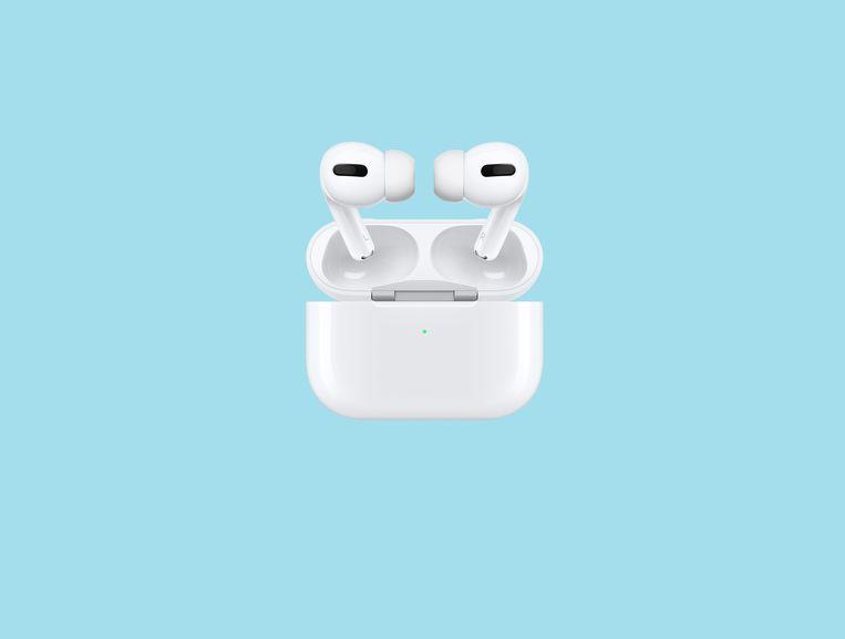 Als de batterij het begeeft, is het gedaan met de Airpod en moet  voor 80 euro een nieuwe worden aangeschaft. Beeld