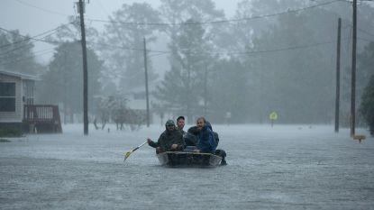 Orkaan Florence breekt record: 102 centimeter neerslag gevallen, dodental loopt op