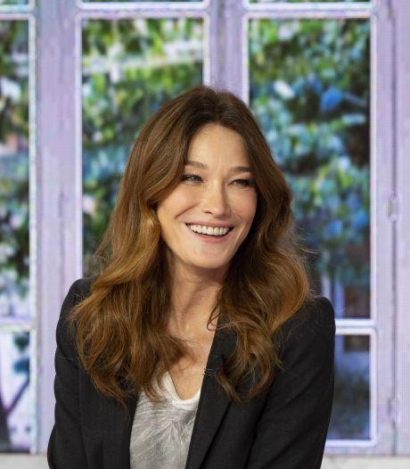 Carla Bruni dévoile d'adorables clichés de sa fille à l'occasion de son anniversaire