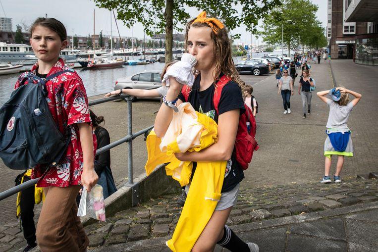 Avondvierdaagse Amsterdam-Oost Beeld Dingena Mol