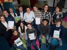 Graag onverharde wandelpaden in uiterwaard Tiel, adviseren leerlingen van het Lingecollege