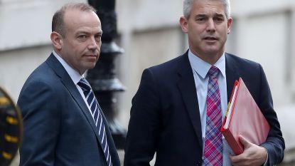 """Staatssecretaris voor brexit neemt ontslag: """"Job overbodig geworden"""""""