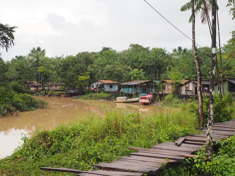 De vissersgemeenschap Ilha São João Beeld Karlijn Kuijpers