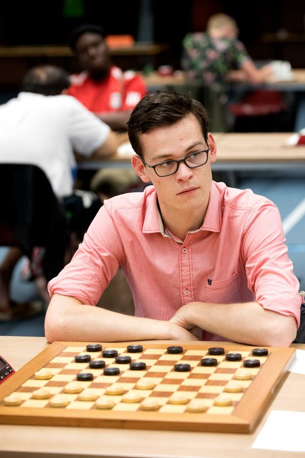 Roel Boomstra, vorig jaar tijdens het Nijmegen Open.