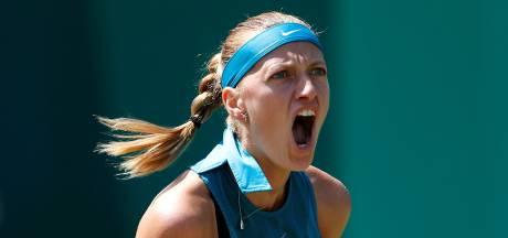 Kvitova pakt in Birmingham haar 25ste WTA-titel