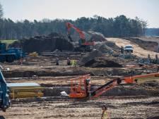 Werk aan Beekdalbrug Keersop bij Valkenswaard gaat door