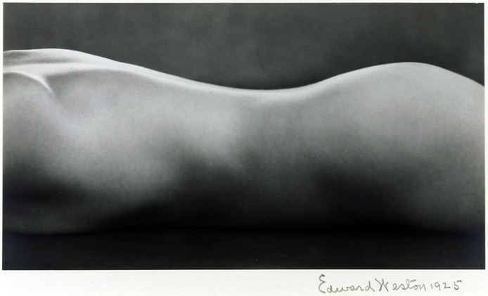 'Nude' van Edward Weston.