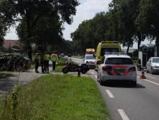 Motorrijder gewond door botsing met auto in Etten