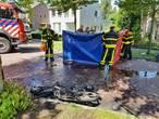Vrouw in brand na ongeluk, kleindochter breekt arm: 'Oma wilde remmen, maar de rem deed gek'