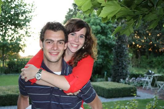 Sjors Pijnenburg en Kirsty van den Schoor, slachtoffers van de MH17-ramp.