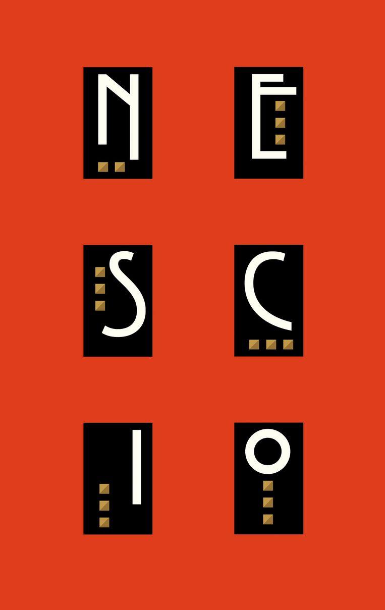 Nescio: De uitvreter, Titaantjes, Dichtertje. Omslag Ron van Roon. Beeld