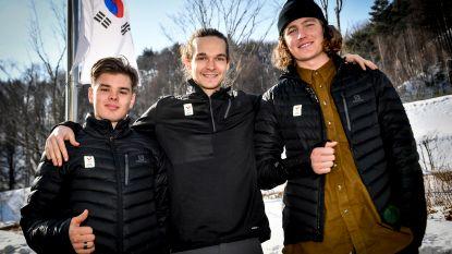 Koude kunstjes voor onze drie Belgische snowboarders
