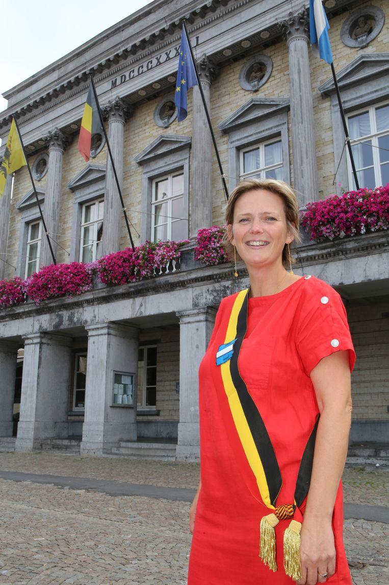 Huidig burgemeester Katrien Partyka wil verder werken aan een beter Tienen.