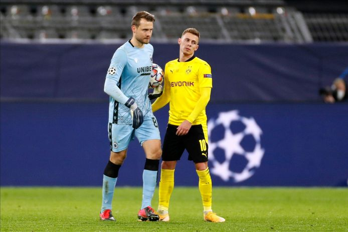 Le Borussia Dortmund de Thorgan Hazard a dominé les débats de A à Z et n'a pas laissé la moindre chance au Club de Bruges de Simon Mignolet.