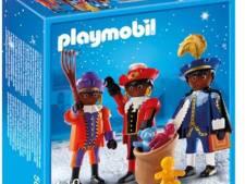 Playmobil blijft in zwarte piet-poppetjes geloven
