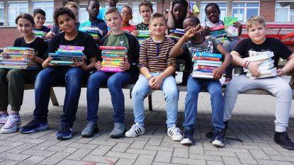 """GO! basisschool Atheneum breidt schoolbibliotheek fors uit met 250 nieuwe boeken: """"Nog meer inzetten op leesplezier"""""""