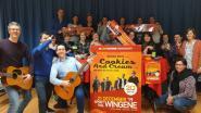 Oudercomité Sint-Elooi viert twintigste Live Historie met Maïskie Mollie en Cookies and Cream
