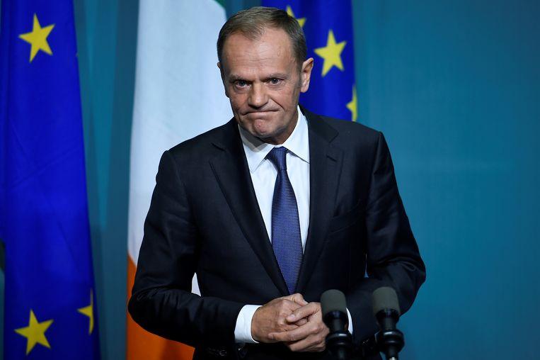 Voorzitter van de Europese Raad Donald Tusk.