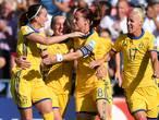 Zweden pakt leiding in groep B dankzij klungelende Russische keepster