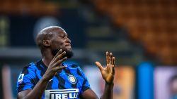 LIVE. Lukaku breekt de ban voor Inter! 'Big Rom' knalt 1-0 tegen de netten