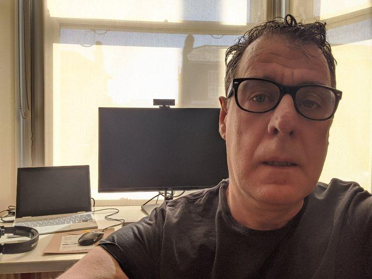 """Bart Govaert woont in Londen en werkt voor Google. Vorige week maandag werd hij ziek. """"Ik heb een longaandoening, maar toch kon ik niet getest worden op het coronavirus."""""""