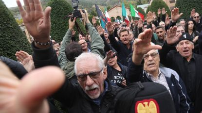 Veel Italianen kijken weer op naar Mussolini