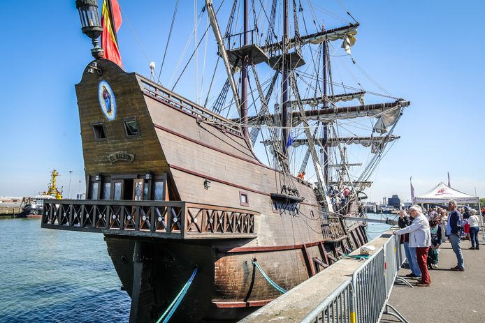 El galleon galjoen Oostende