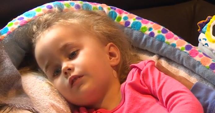 Zoélia est atteinte de la maladie de Tay-Sachs.