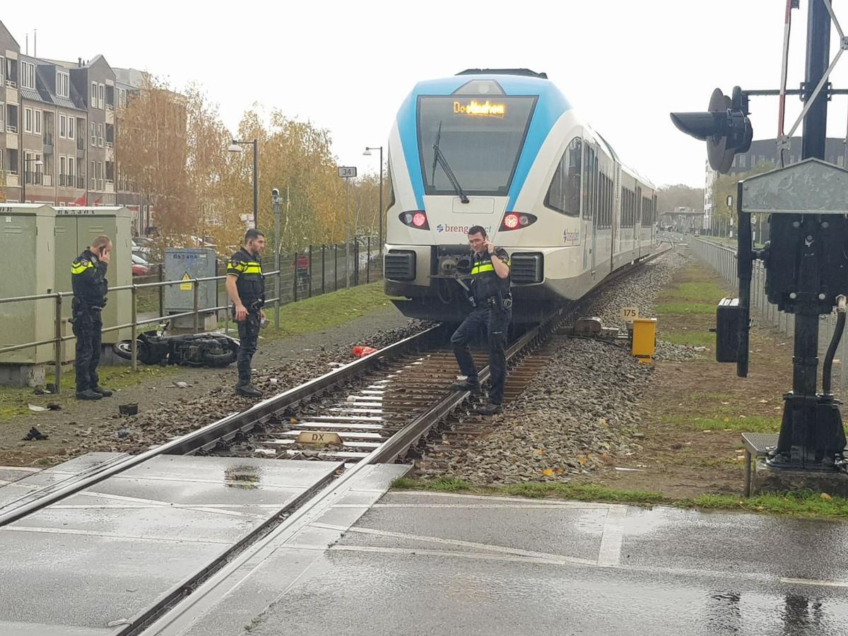 De hulpdiensten zijn donderdagmiddag gealarmeerd voor een ongeval op de Havenstraat.
