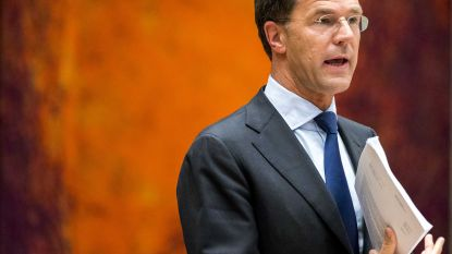 Nederlandse premier Rutte geeft fout toe in dividenddiscussie, oppositie dient motie van afkeuring in