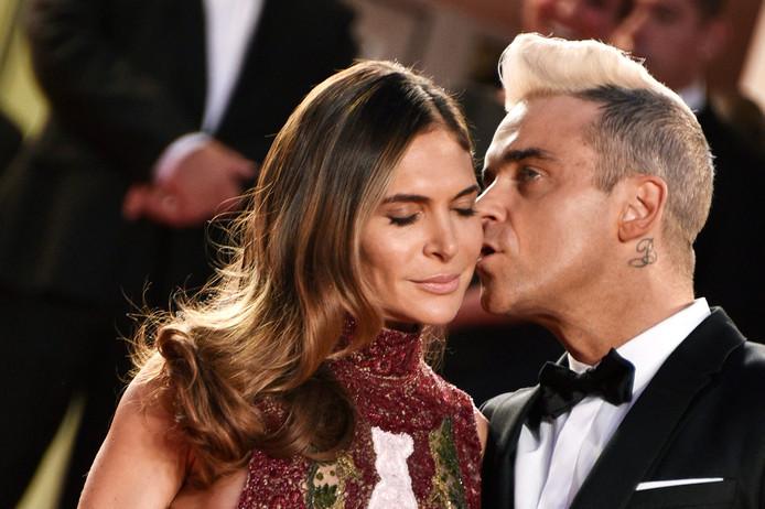 Robbie Williams et sa femme Ayda Field