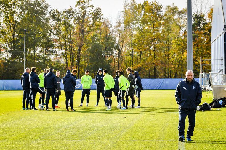 Assistenten Tom Van Imschoot en Denis Dessaer leidden de training.