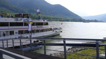 Aan de mooie, lekkere Donau