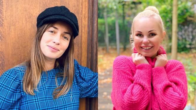SHOWBITS. Zwangere Dorien Reynaert in het gips en Lesley-Ann Poppe heeft groot nieuws