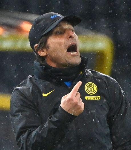 Internazionale mist coach Antonio Conte komende wedstrijden na misdragingen
