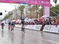 """Kleiman wint in Tour of Antalya """"ik raakte niet in paniek."""""""
