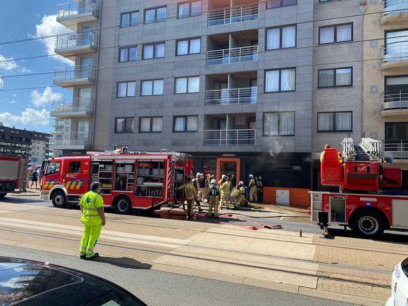 De brandweer had het vuur relatief snel onder controle.