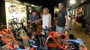 Sofie Goos opent hypermoderne fietsenzaak