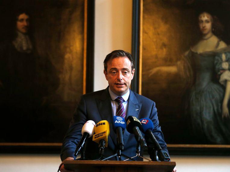 Burgemeester van Antwerpen, Bart de Wever. Beeld Hollandse Hoogte /  ANP