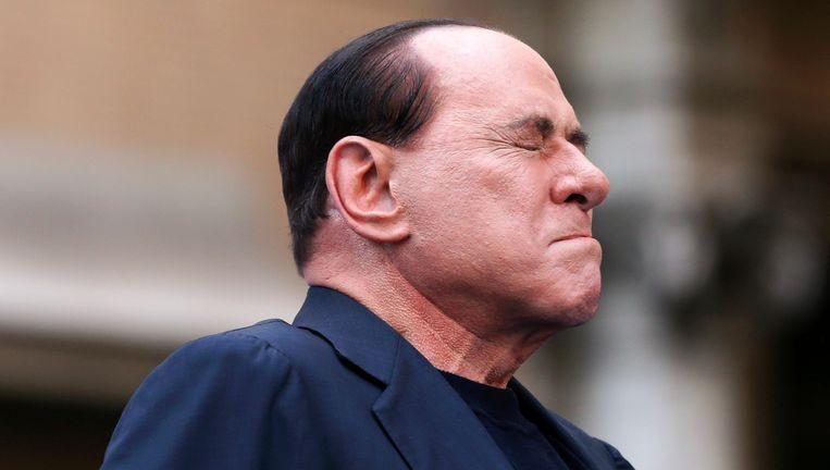 Ex-premier Silvio Berlusconi. Beeld Reuters
