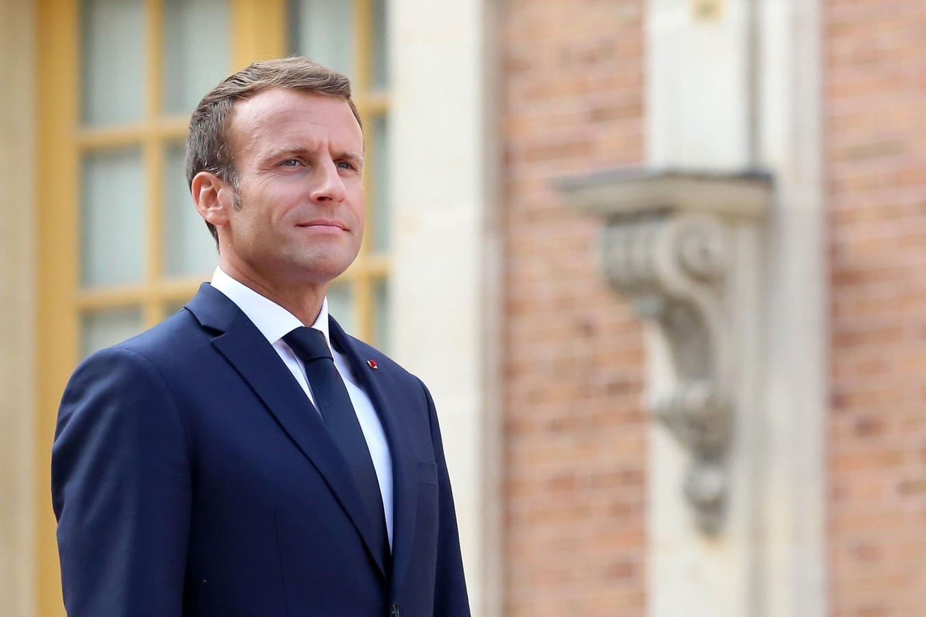 """""""Faire plus pour ceux qui ont moins"""" est le slogan du plan d'Emmanuel Macron"""