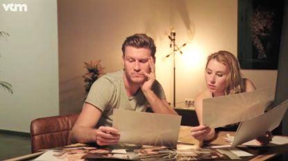 """Lenny en Jolien bekijken hun trouwfoto's: """"Jammer dat we nu in een vriendschapszone zitten"""""""
