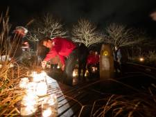 Dronten herdenkt overleden kinderen bij nieuw monument
